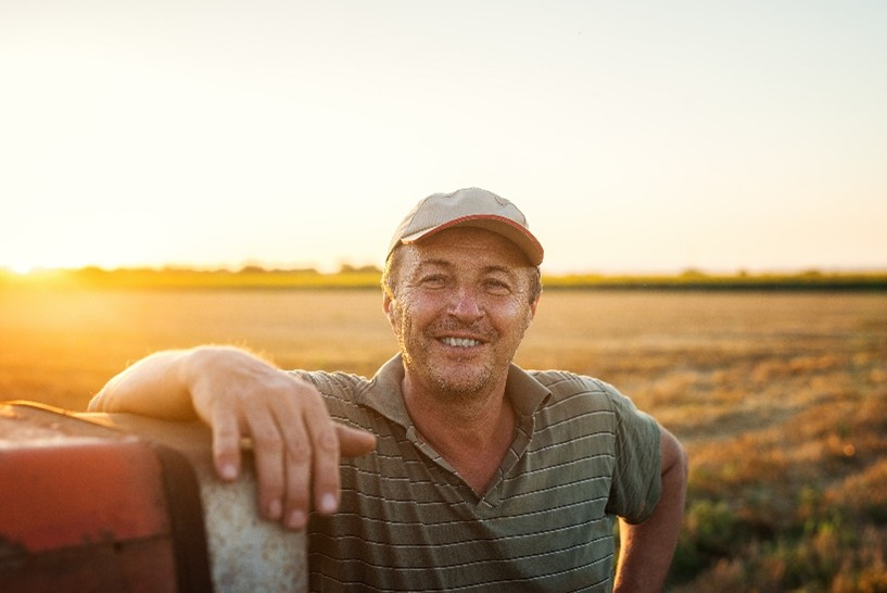 Landwirt aus Nordrhein-Westfalen